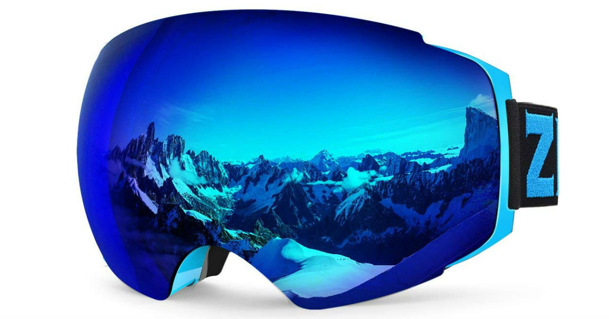 Save 50% on Zionor Snow Goggles ONLY $20.00 Shipped