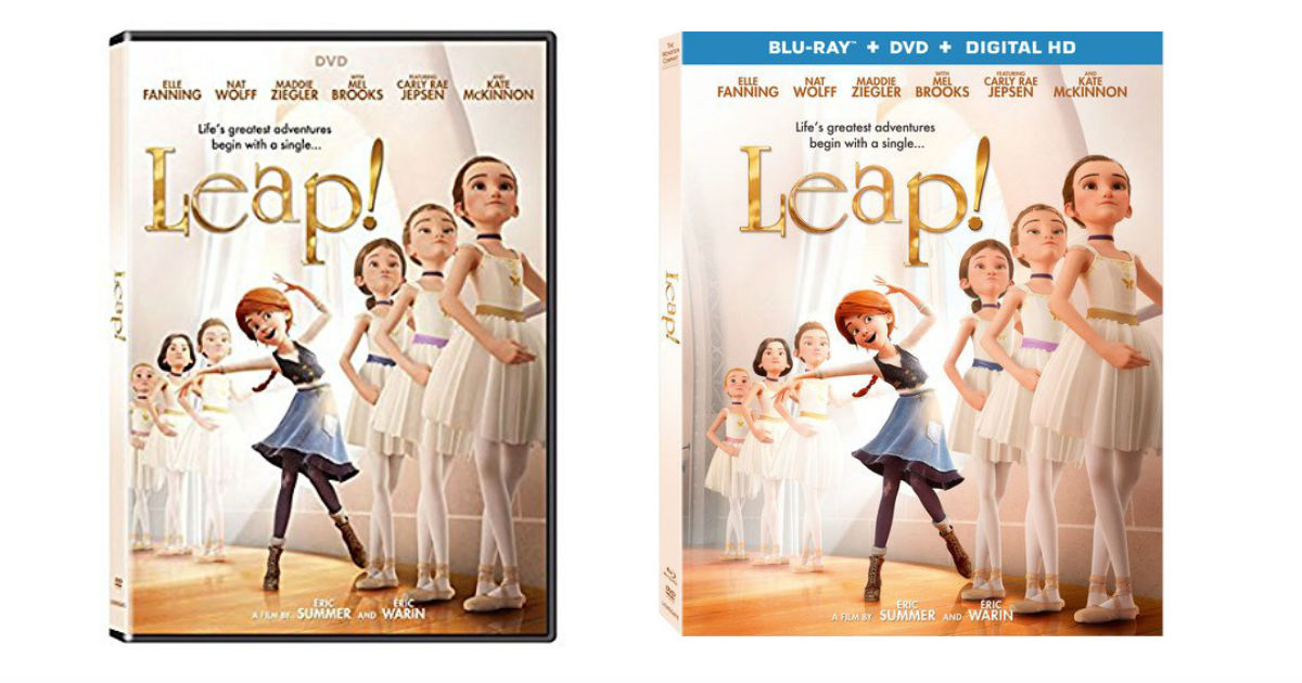Leap DVD ONLY $4.00 Shipped on Amazon