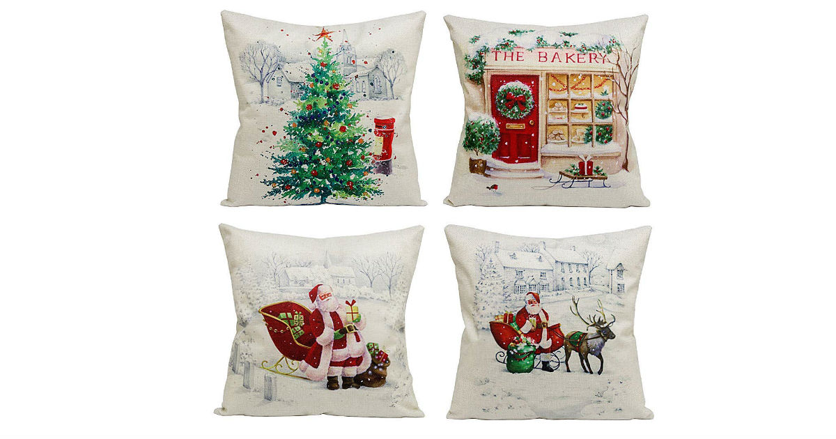 Christmas Pillow Covers ONLY $2.07 Each on Amazon!