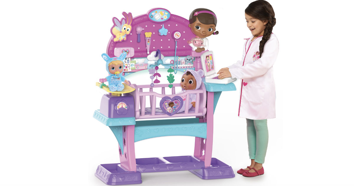 Doc Mcstuffins Baby Nursery Only 59 Reg 91 67 Shipped