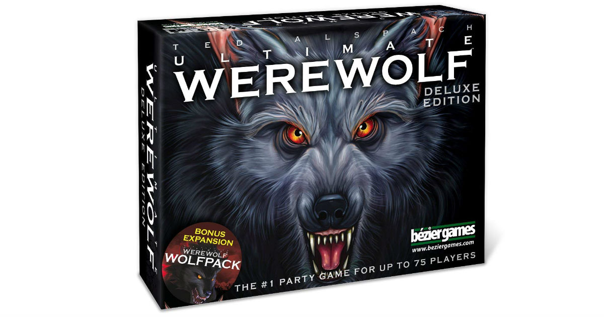 Ultimate Werewolf Deluxe Edition Game ONLY $9.28 (Reg. $25)