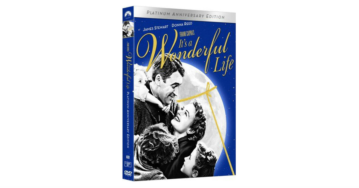 It's a Wonderful Life on DVD ONLY $7.95 (Reg. $17)