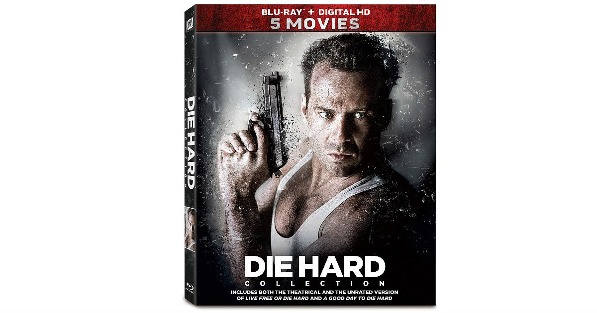 Die Hard 5-Movie Collection Blu-ray ONLY $19.94 on Amazon