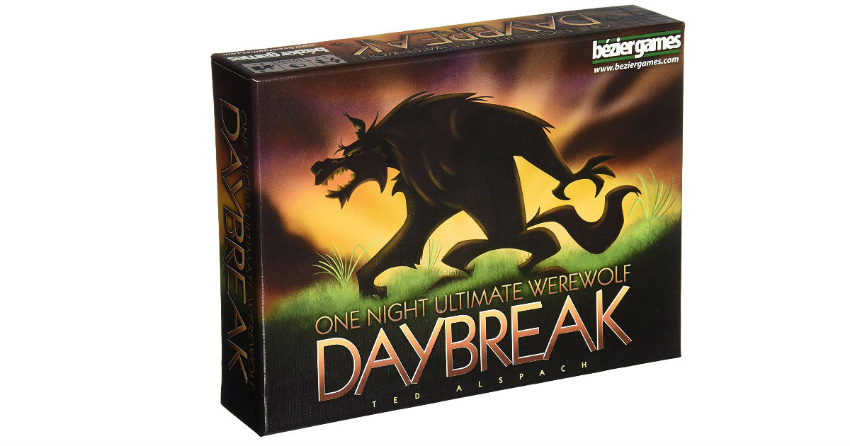 Save 60% on One Night Ultimate Werewolf Daybreak Game ONLY $9.95
