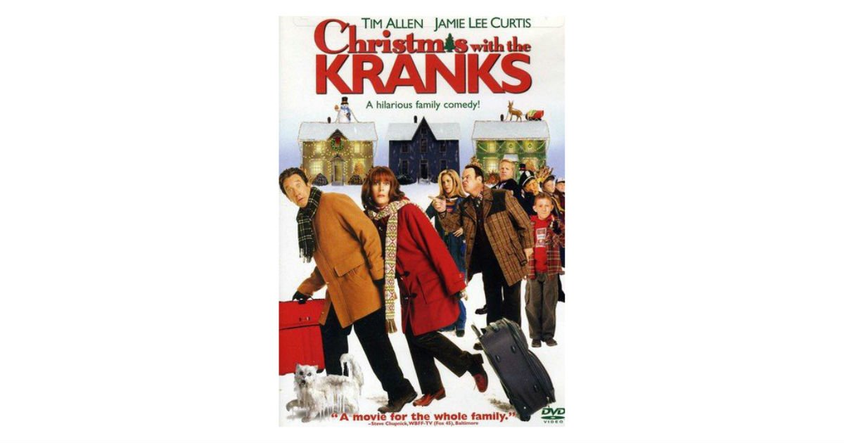Christmas with the Kranks DVD ONLY $4.99 on Amazon