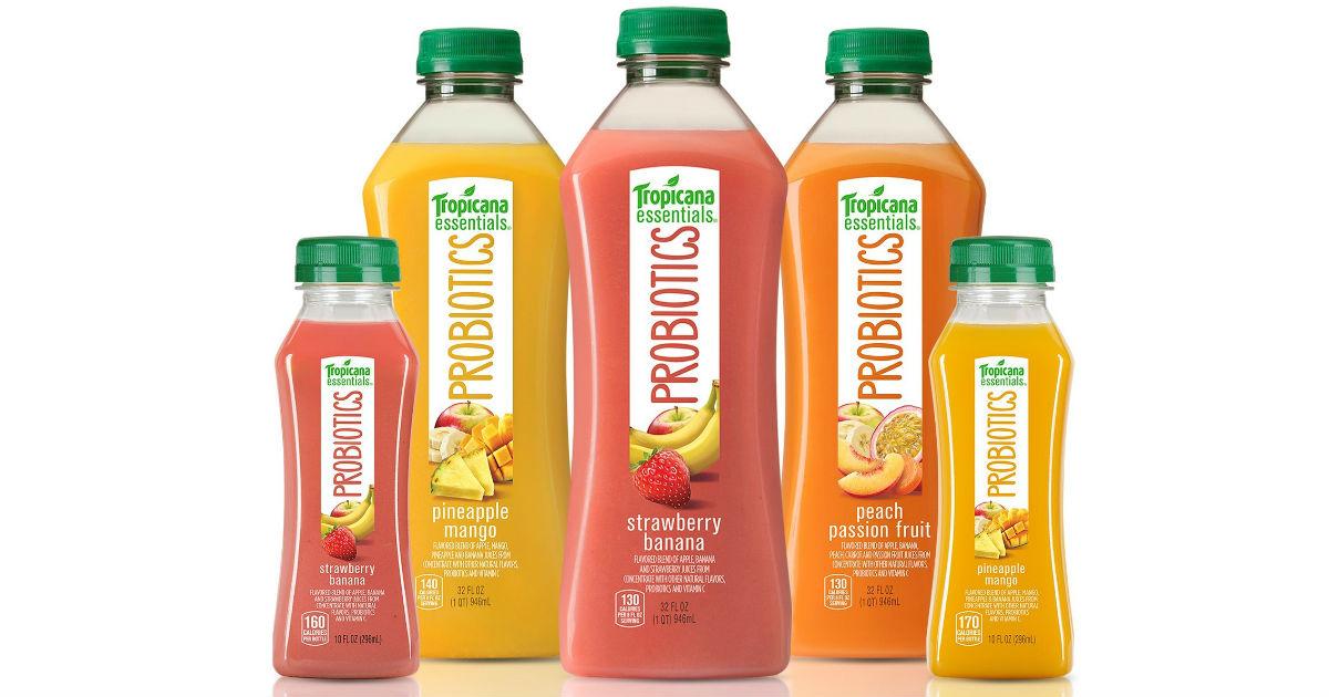 Tropicana Probiotics Juice ONLY $0.49 at Target