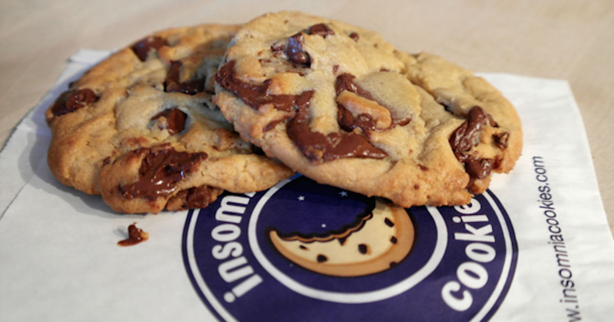 FREE Cookie at Insomnia Cookie