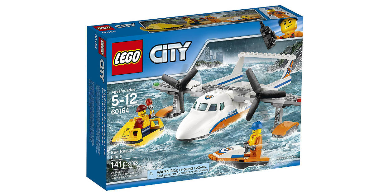 LEGO City Coast Guard Sea Rescue Plane ONLY $11.99 (Reg. $20)