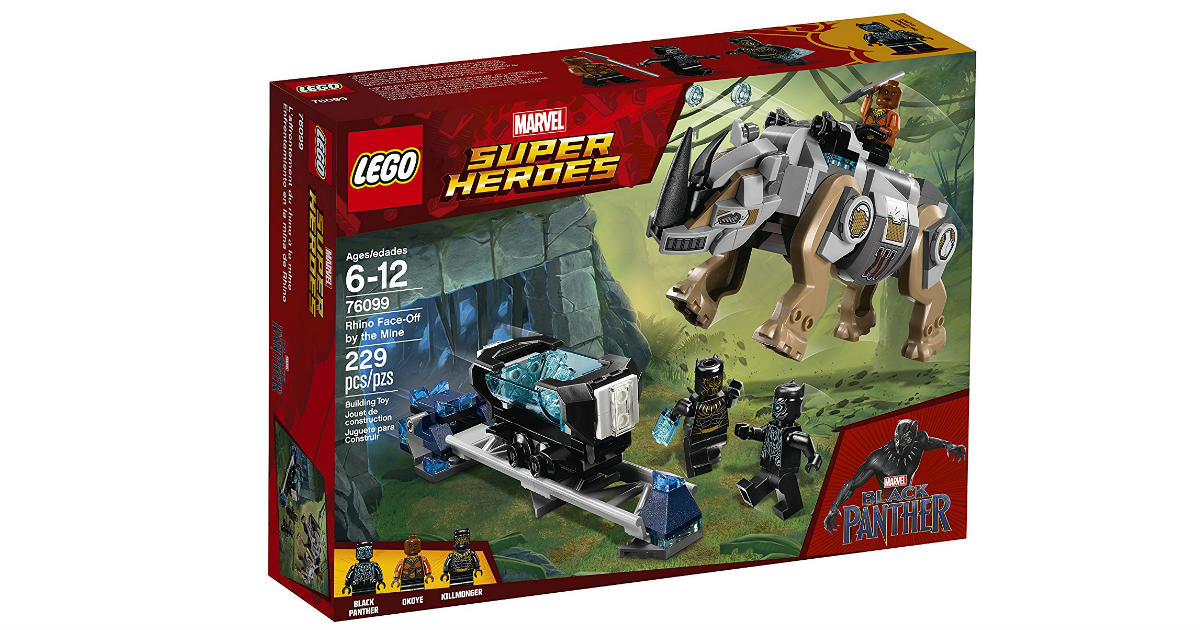 LEGO Marvel Super Hero Building Kit ONLY $11.99 (Reg. $20)