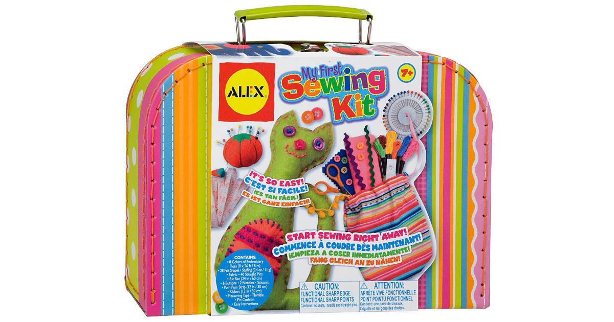 Alex Toys My First Sewing Kit ONLY $9.90 (Reg. $35)