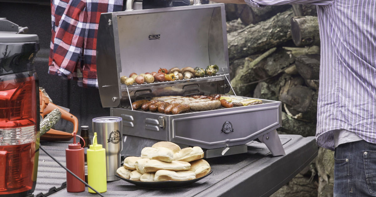Pit Boss Portable Gas Grill ONLY $49.99 (Reg $110) Shipped