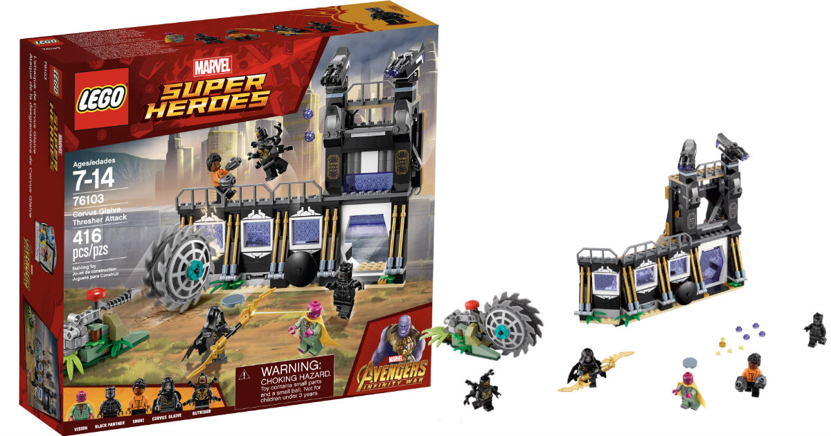 LEGO Super Heroes Corvus Glaive Thresher Attack Set ONLY $23.99