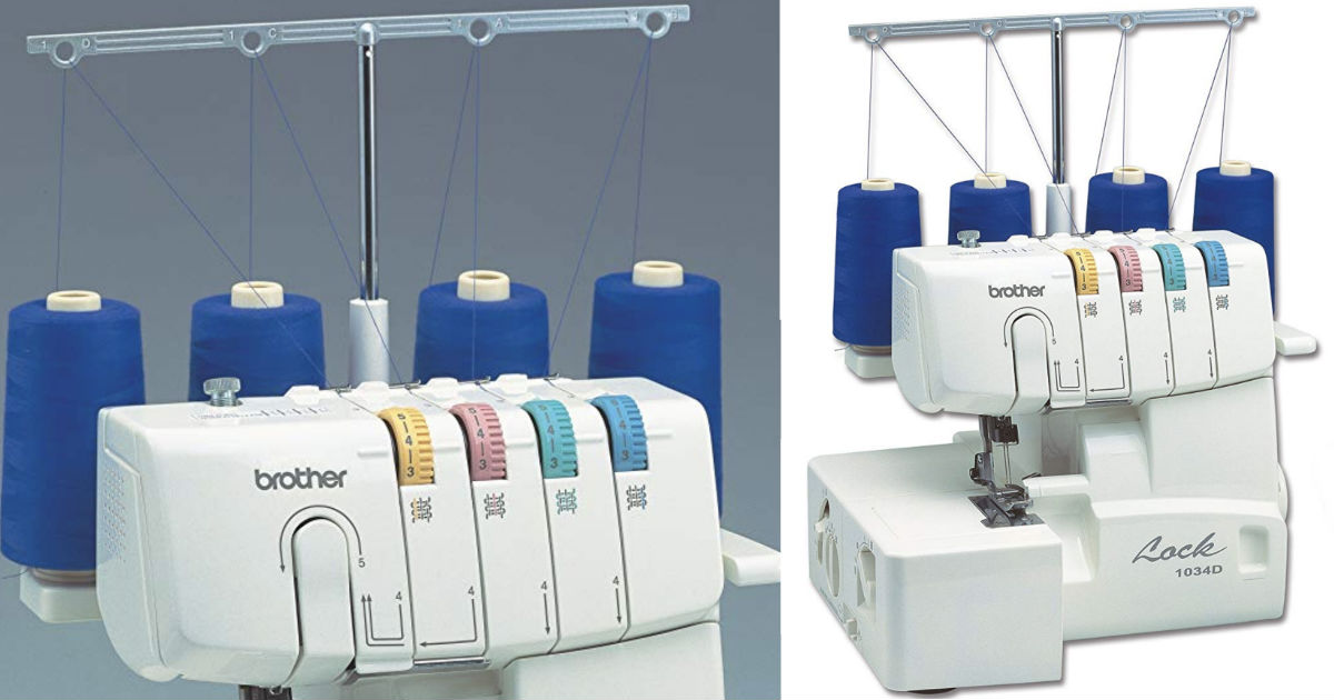 Brother Thread Serger ONLY $132.99 (Reg $350) Shipped