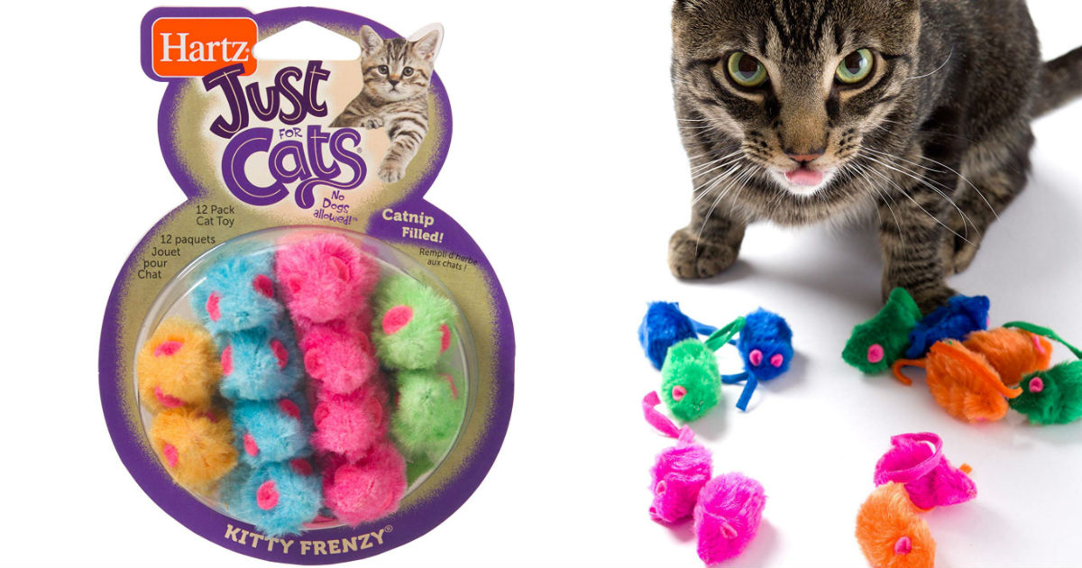 Hartz Catnip Frenzy Toy Pack o...