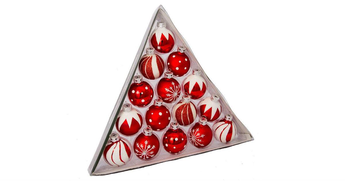 Save 63% on Kurt Adler Glass Ornaments ONLY $7.00 (Reg. $19)