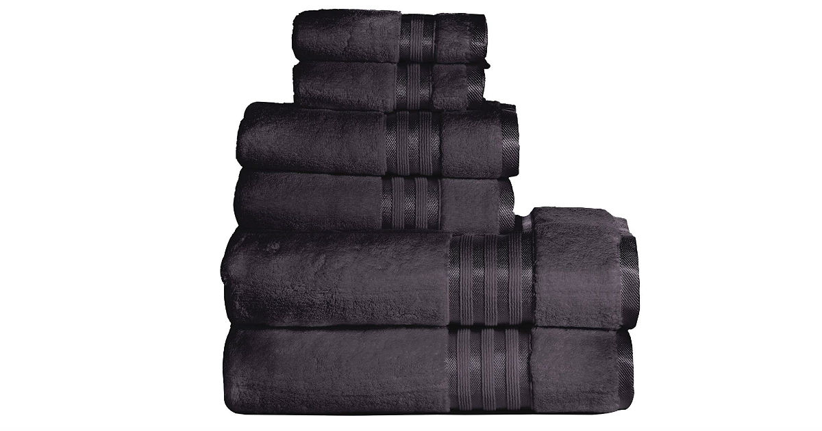 Premium Quality 6-Piece Towel Set ONLY $21.99 (Reg. $34)