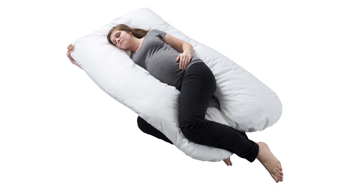 Save 70% on Full Body Maternity Pillow ONLY $30.38 (Reg. $100)