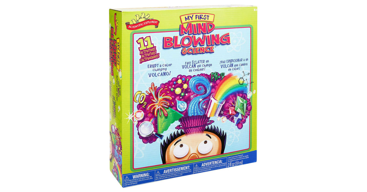 My First Mind Blowing Science Kit ONLY $11.94 (Reg. $24)