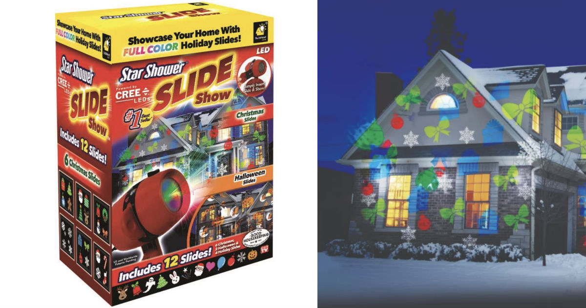 Star Shower Slide Show LED Light Projector ONLY $5.99 (Reg $40)