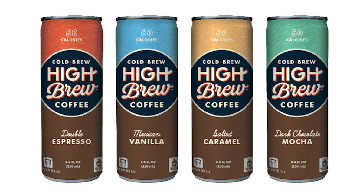 High Brew Coffee Cold Brew