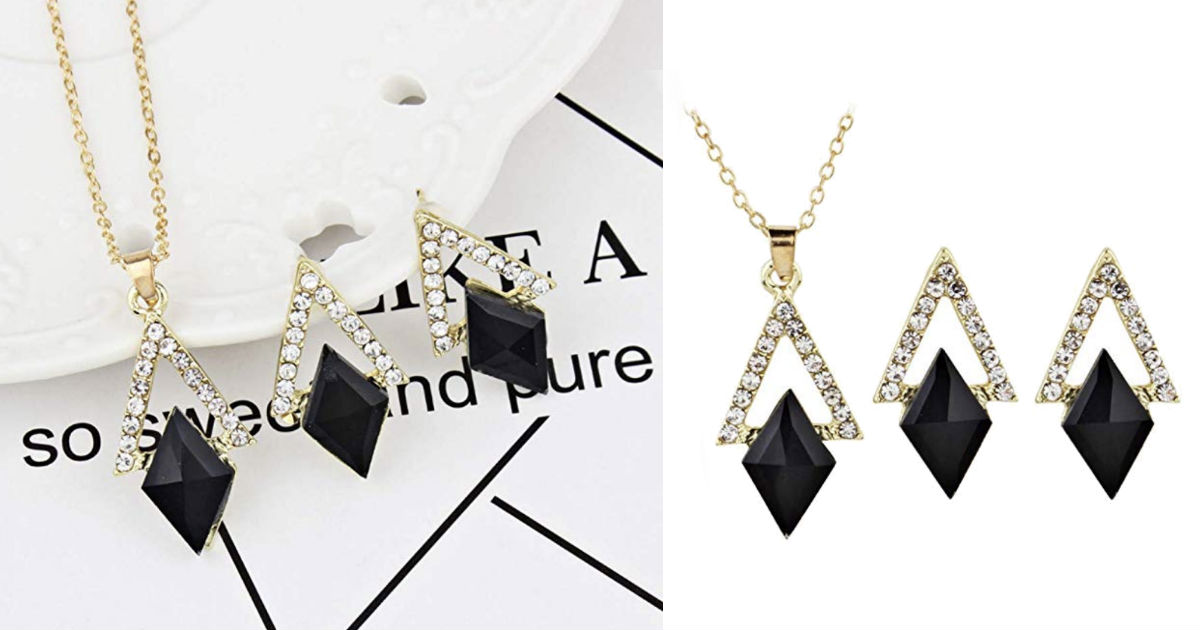 Black Diamond Crystal Elegant.