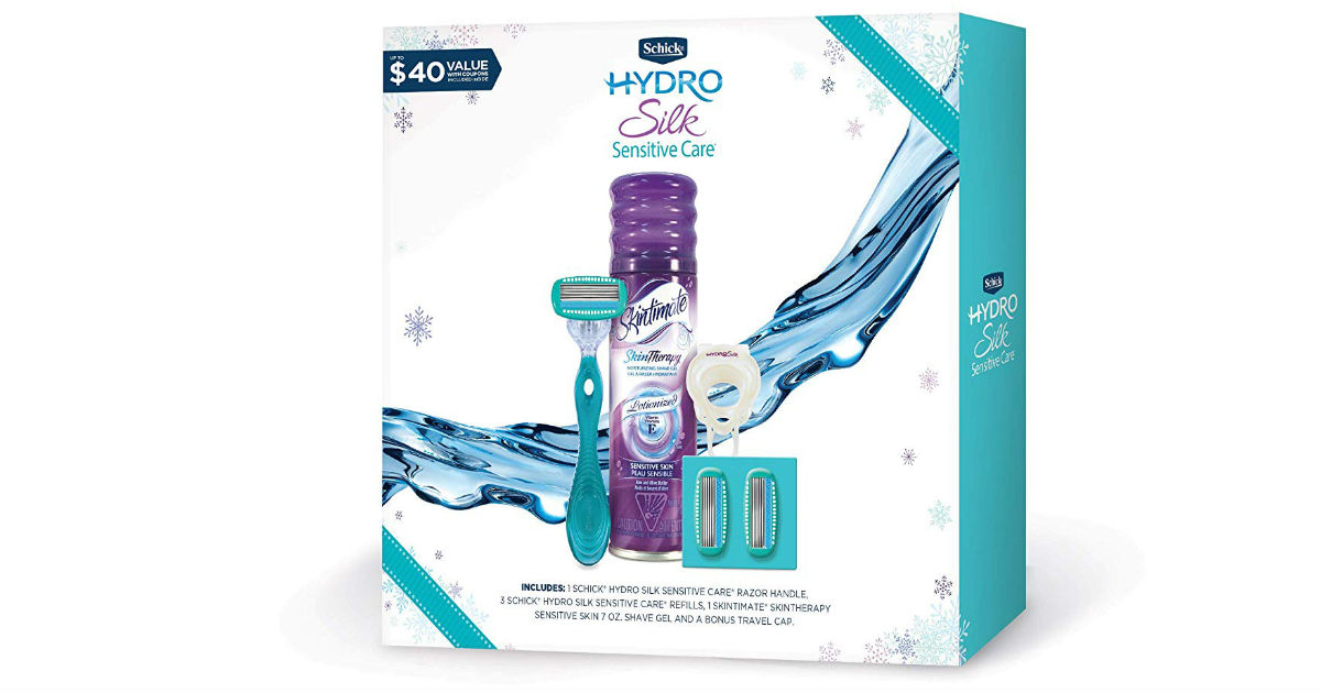 73% Off Schick Hydro Silk Women Gift Set ONLY $10.99 (Reg. $40)