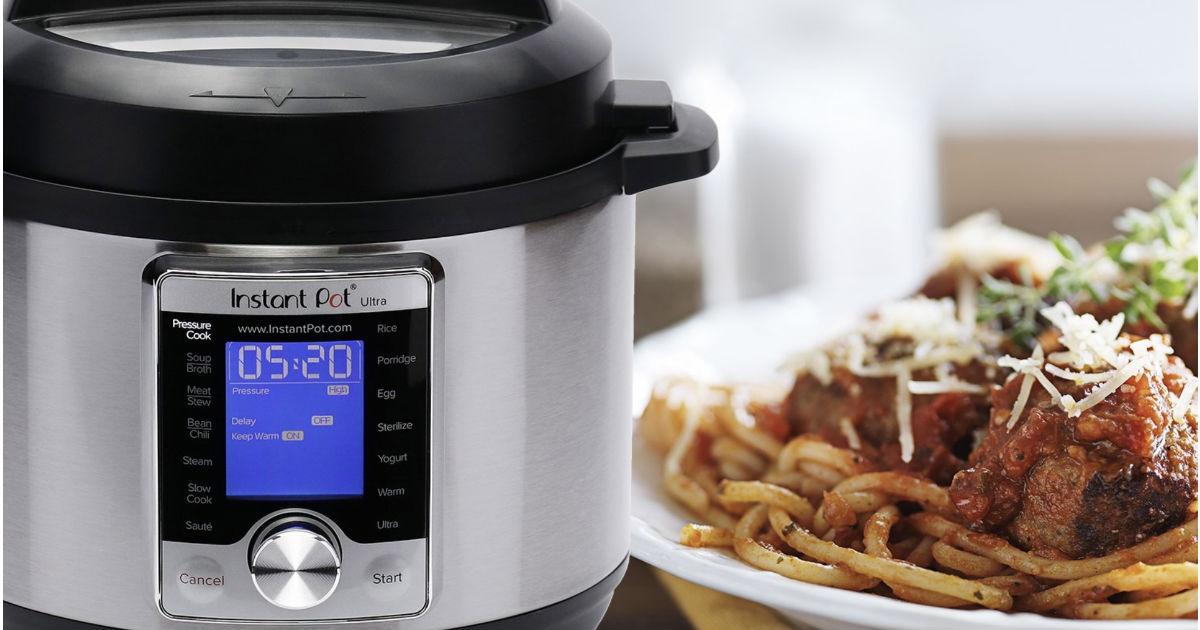 Instant Pot Ultra 3 Quart 10-in-1 Pressure Cooker ONLY $59.95
