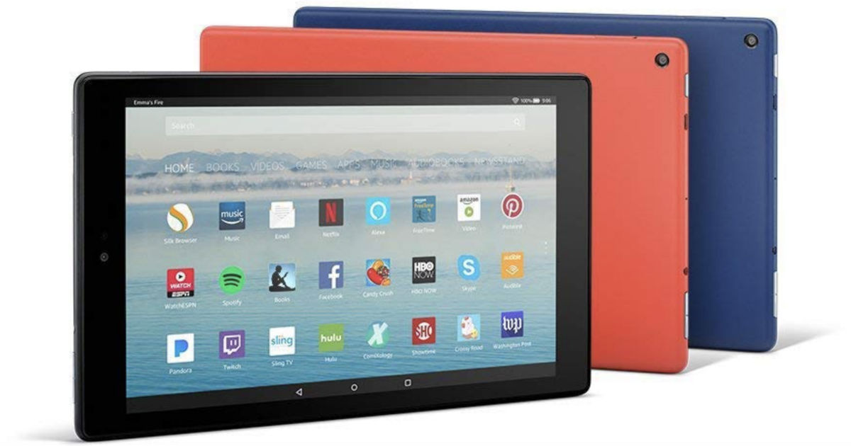 Amazon Fire HD 10 Tablet, 32 GB ONLY $99.99 (Reg $150) Shipped