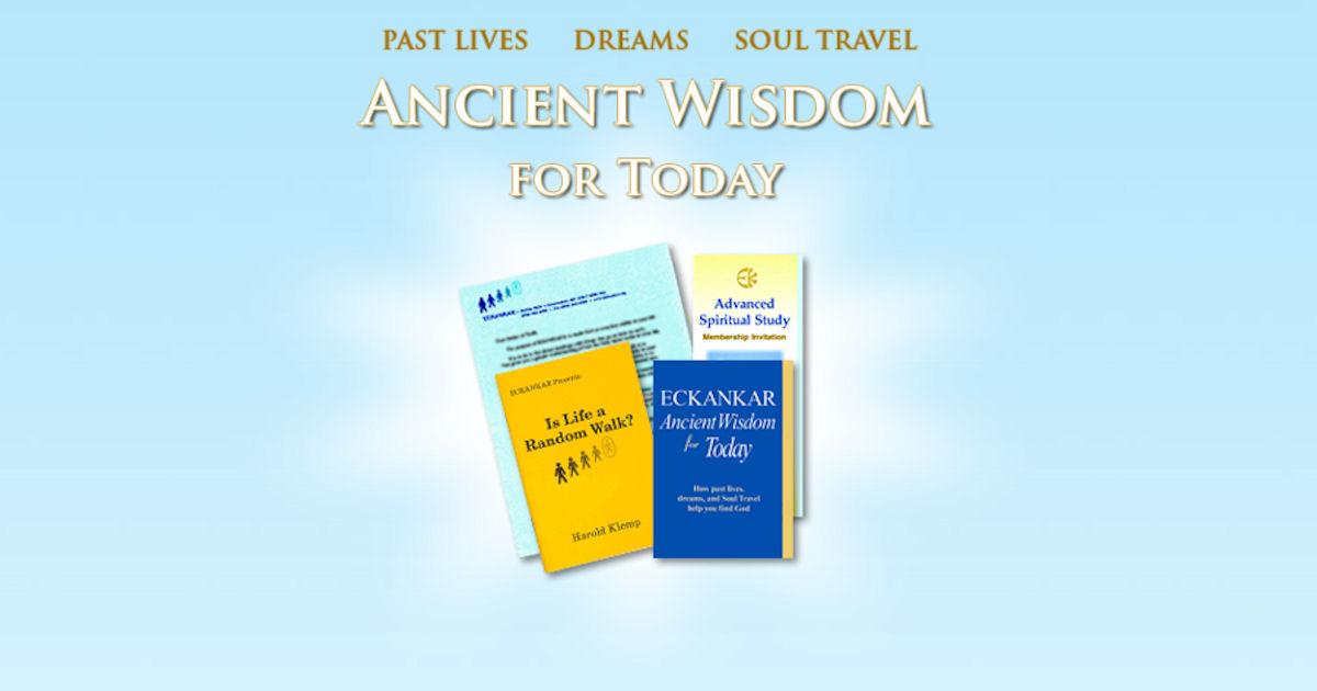 FREE Eckankar Ancient Wisdom B...
