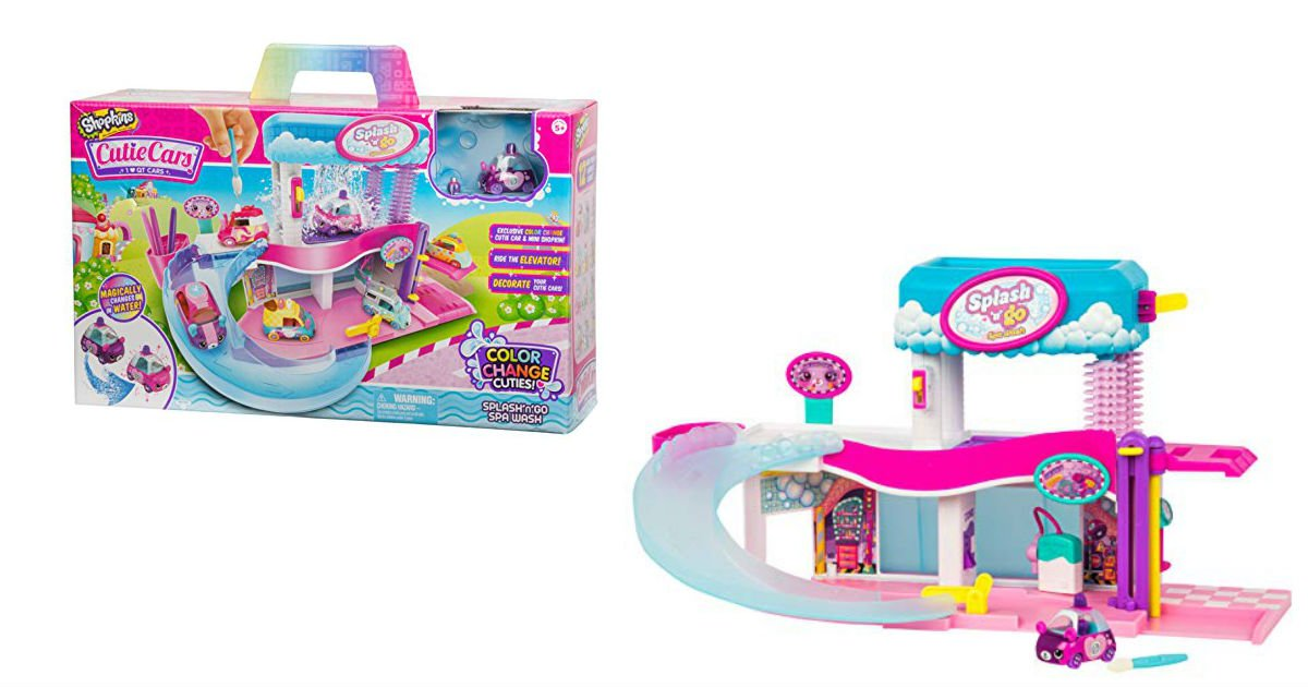 Shopkins Cutie Cars Splash 'N' Go Spay ONLY $18.89 (Reg. $30)