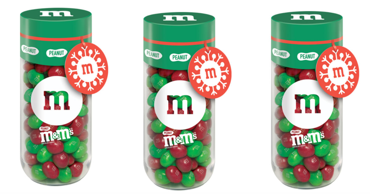 M&M Holiday Jars at Walmart