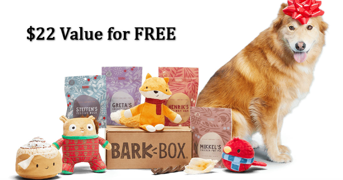 BarkBox - Double Your First Bo...