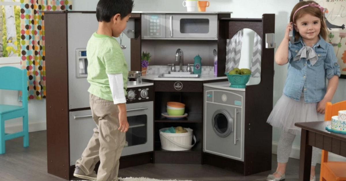 KidKraft Ultimate Corner Play Kitchen ONLY $124.99 (Reg $150)