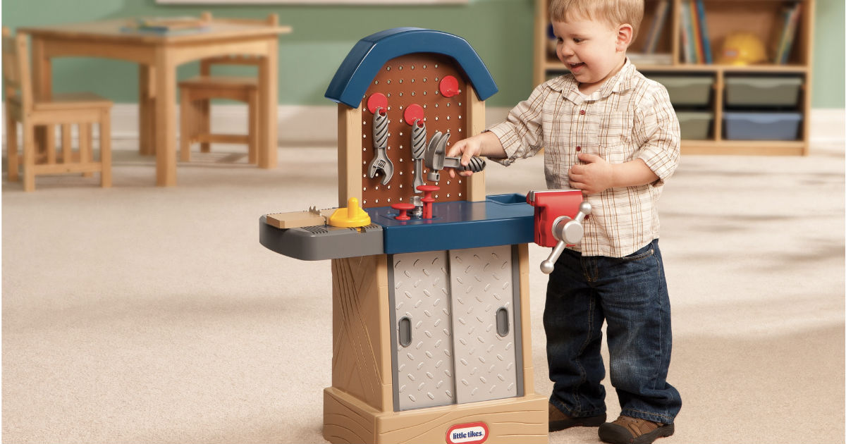 Little Tikes Tough Workshop ON...