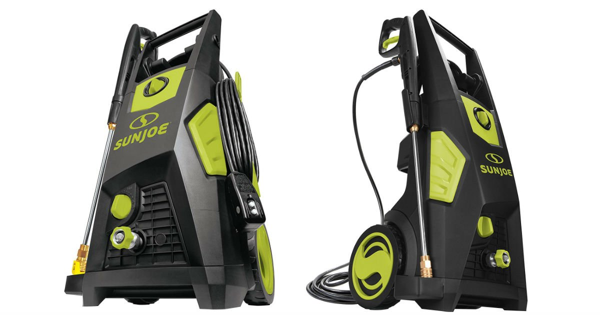Sun Joe Electric Pressure Washer ONLY $159 (Reg. $245)