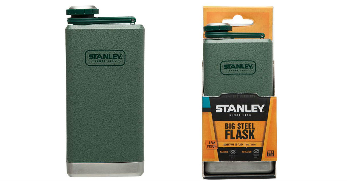 Stanley Stainless Steel Flask ONLY $9.77 (Reg. $17)