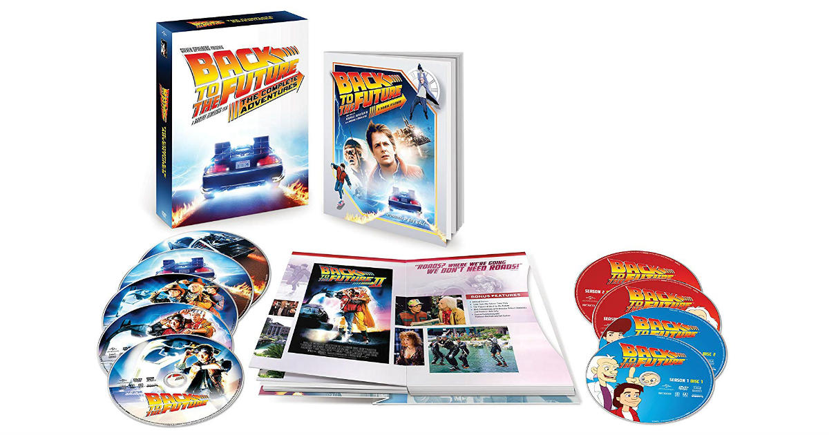 Back to the Future: The Complete Adventures ONLY $17.99