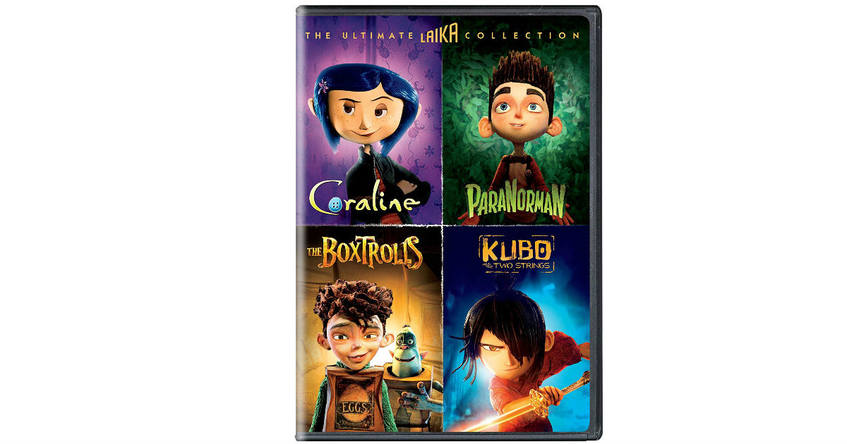 The Ultimate Laika 4-Movie Collection ONLY $10.99 (Reg. $35)