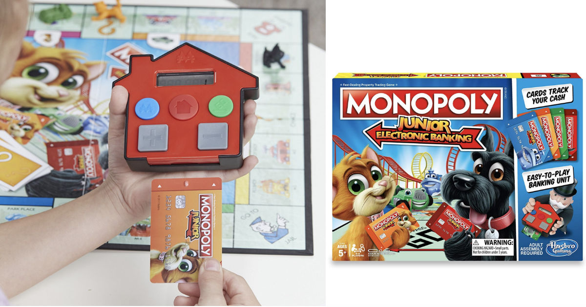 Monopoly Junior Electronic Banking Game ONLY $9.88 Shipped