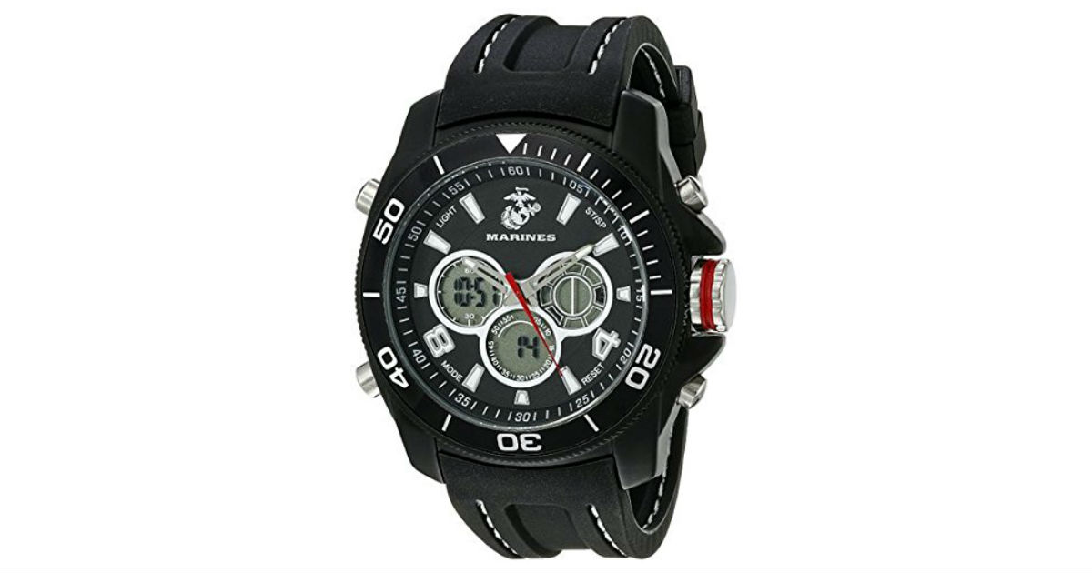 Save 58%: Wrist Armor Men's Watch ONLY $39.99 (Reg. $95)