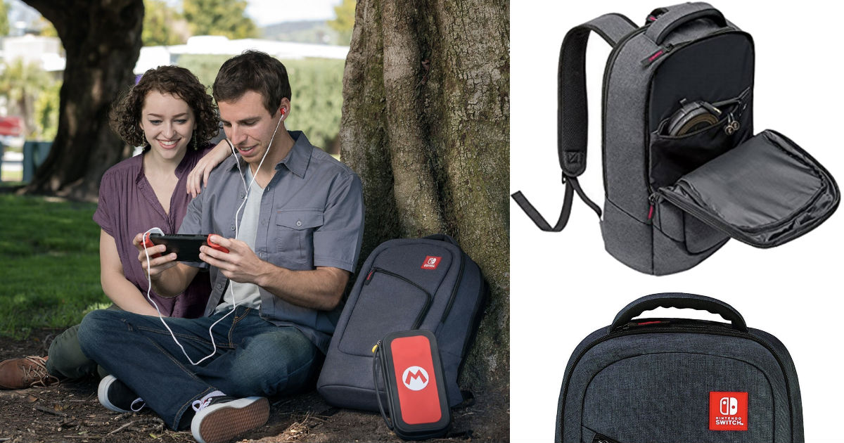 Nintendo Switch Elite Player Backpack ONLY $24.99 Shipped