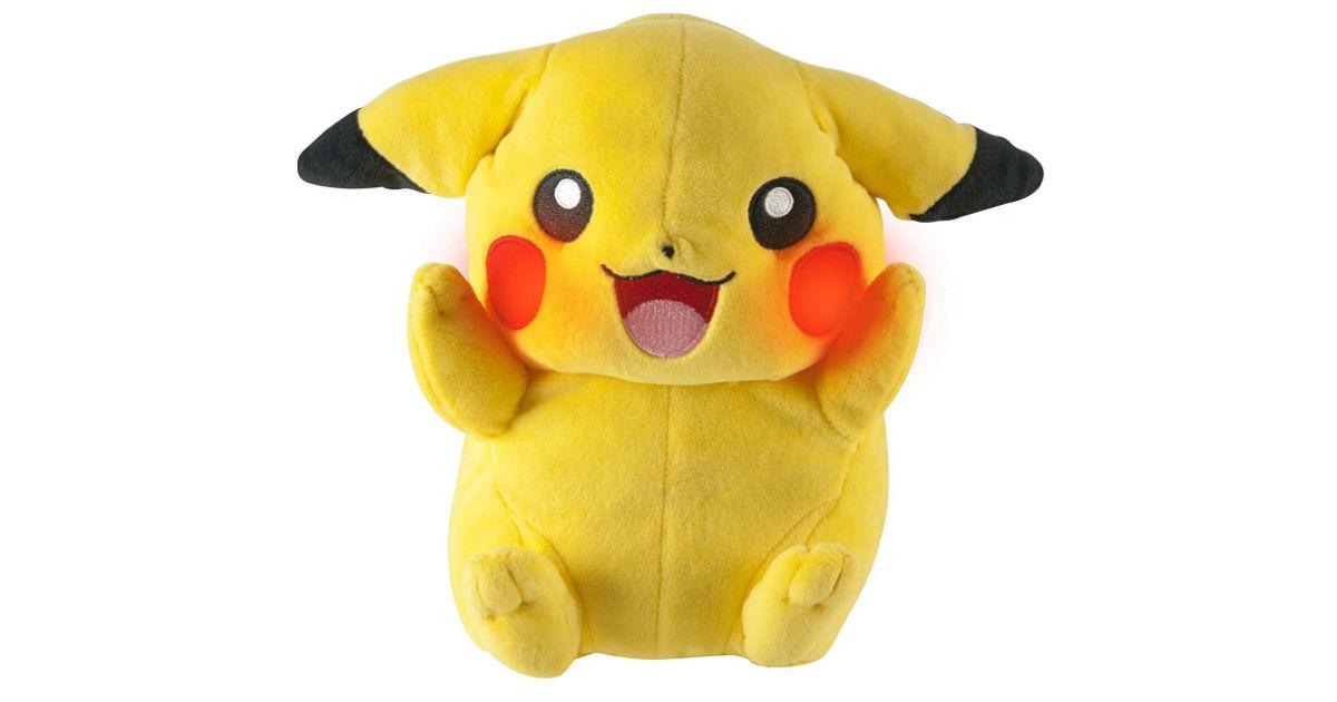 Save 58%: Tomy Pokemon My Friend Pikachu ONLY $12.74 (Reg. $30)