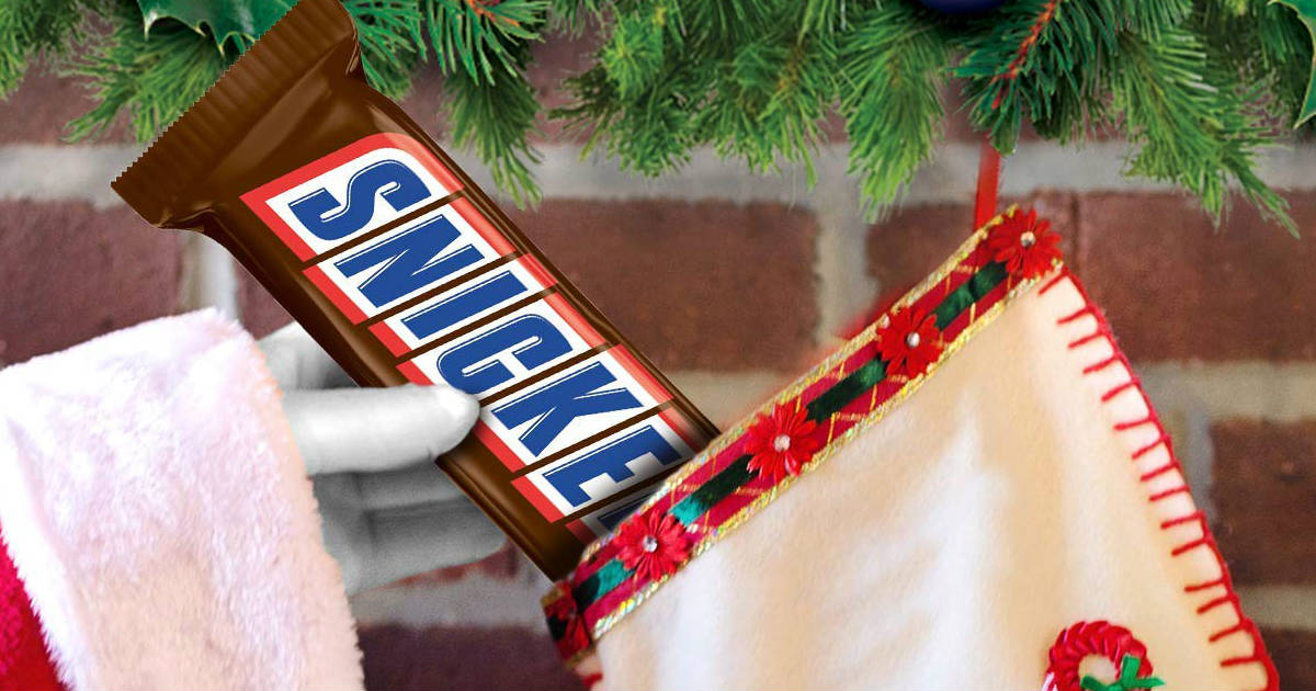 Snickers bar on Amazon