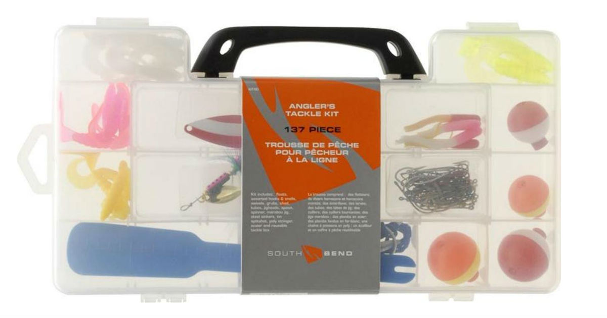 Maurice Sporting Goods Fishing Tackle Kit ONLY $4.85 (Reg. $10)