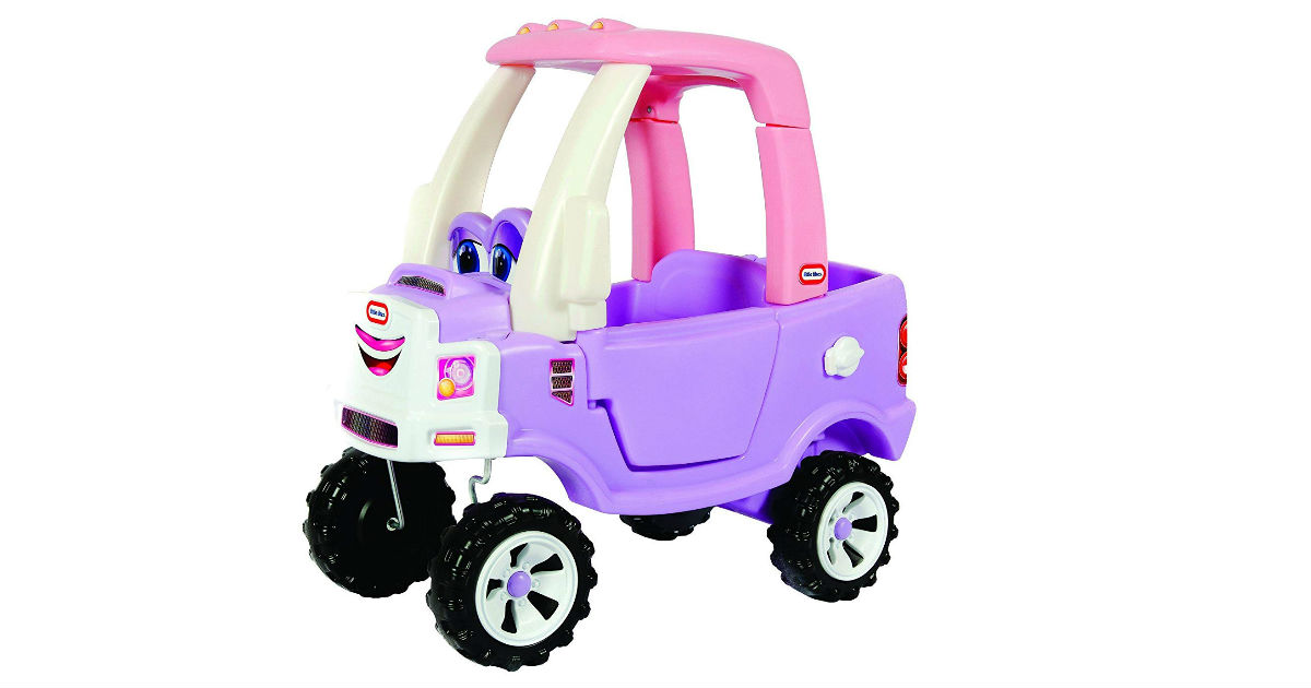 Little Tikes Princess Cozy Truck Ride-On ONLY $49.99 (Reg. $90)