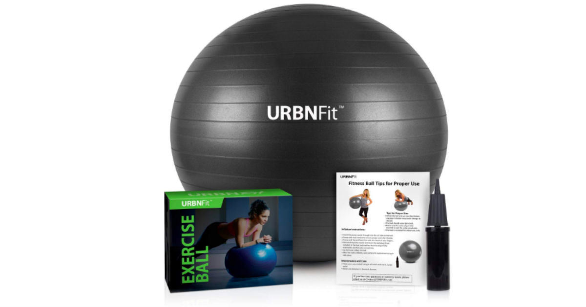 URBNFit Exercise Ball Only $9.74 on Amazon (Reg. $40)