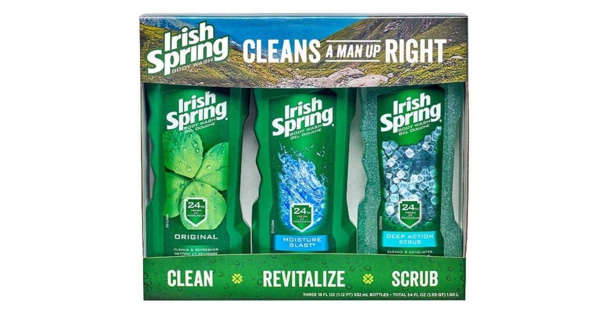 Irish Spring 3-Pack Body Wash at Walmart ONLY $6.88 (Reg. $10)