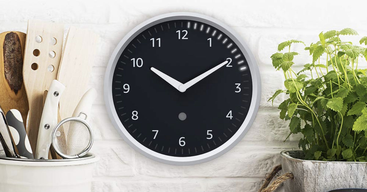 Echo Wall Clock ONLY $29.99 Shipped at Amazon