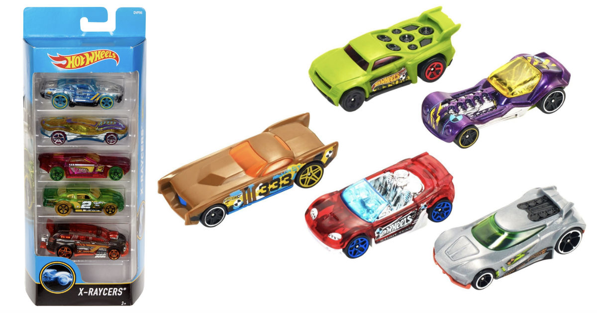Hot Wheels 5-Car Gift Pack ONL...