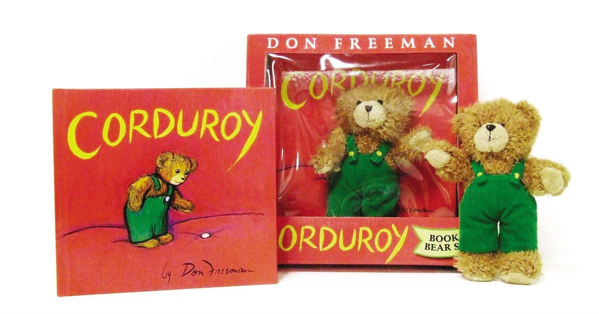 Corduroy Book & Bear Gift Set on Amazon